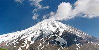 ثبت بیسابقه دمای ۷ درجه در قله دماوند