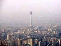 جهش غلظت گاز «مخرب ریه» در آسمان تهران ظرف ۱۰ روز