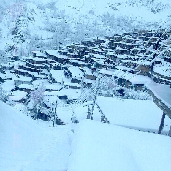 اوج زیباییهای زمستانی در بام ایران