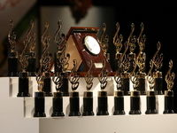 بازیگرانی که برنده حافظ شدند +عکس