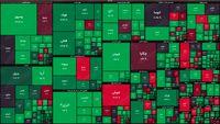 نقشه بازار سهام بر اساس ارزش معاملات/ فرابورس از قافله سبز پوشی عقب نماند