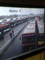 اتوبوسهای تهران هر شبانهروز ۴نوبت ضد عفونی میشوند