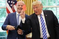 حمله فوتبالی ترامپ به فیفا؛ پول ایران را ندهید!