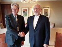 ظریف با نخستوزیر سابق ایتالیا دیدار کرد