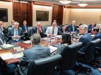 عکسی از جلسه شورای امنیت ملی آمریکا
