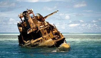 کشتیهای غرق شده تاریخی +تصاویر