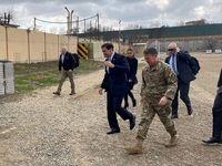 وزیر دفاع آمریکا وارد عراق شد