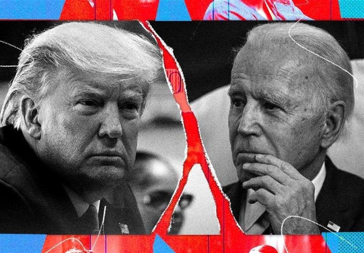 پیشتازی ۱۲درصدی بایدن نسبت به ترامپ