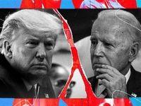 پیشتازی ۱۰درصدی بایدن از ترامپ
