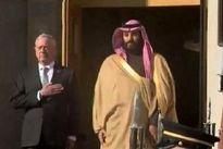 بنسلمان با وزیر دفاع آمریکا دیدار کرد