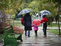 بارندگی در تهران ادامه دارد