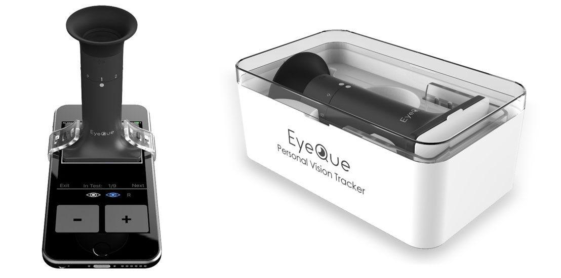 تعیین نمره عینک با موبایل
