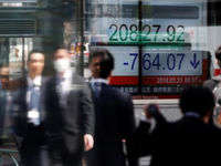 نوسان شدید در بازار سهام آسیایی