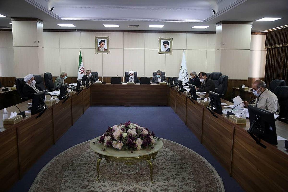 بررسی قانون انتخابات ریاست جمهوری در هیات عالی نظارت مجمع