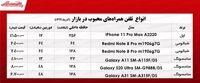 محبوبترین موبایلهای بازار  +جدول