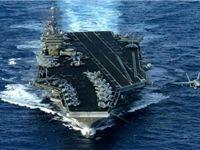 پهپاد ایرانی به جنگنده در حال فرود آمریکایی نزدیک شد
