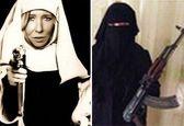 بیوه سفید داعش بالاخره از پای درآمد +عکس