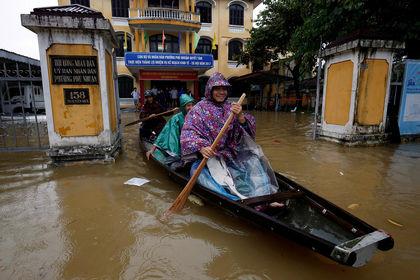 طوفان دامری در ویتنام +تصاویر