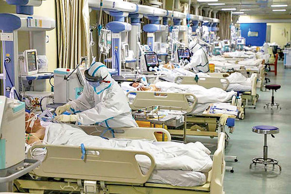 رکورد بستری بیماران کرونا در تهران شکست