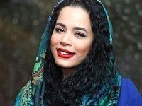 ملیکا شریفینیا با لباس عربی +عکس