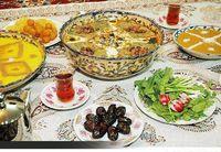 در وعدههای افطار و سحری