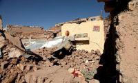 تصویر جابجایی پوسته زمین در اثر زلزله آذربایجان شرقی