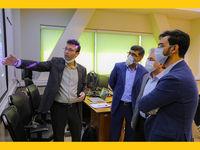 بازدید جهرمی از بخشهای فنی و پشتیبانی ایرانسل
