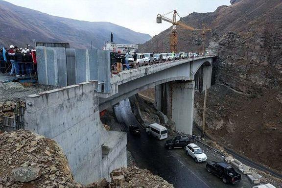 زمان افتتاح قطعه دوم آزادراه تهران - شمال اعلام شد