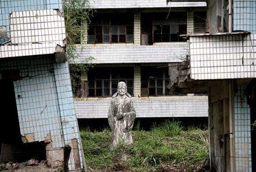 شهری که بعد از زلزله ۸ریشتری رها شد