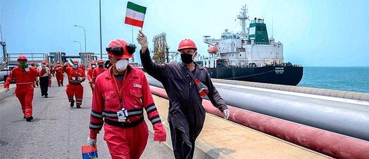 اعزام نفتکشهای ایرانی به ونزوئلا هیمنه نظامی آمریکا را به چالش کشید