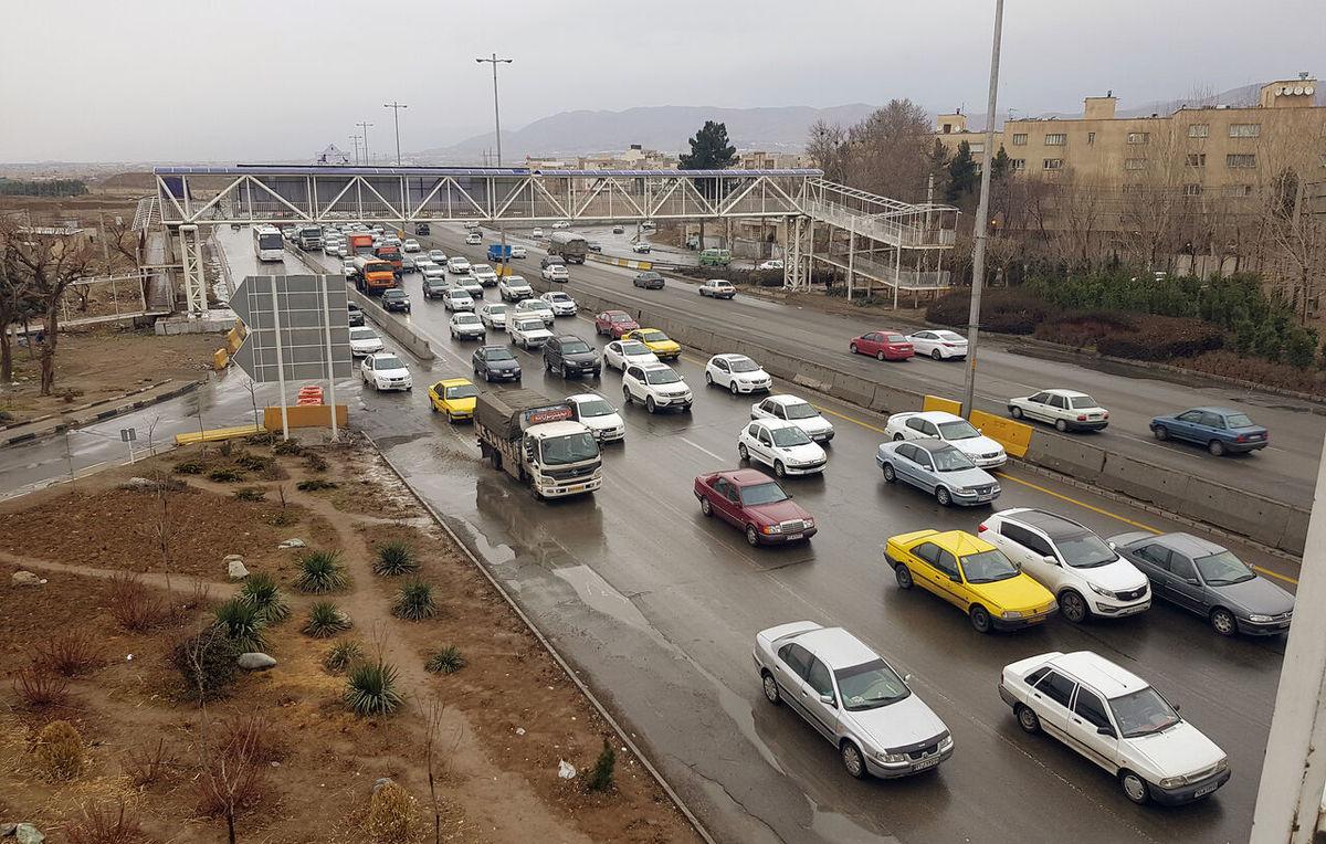 افزایش ۴ درصدی تردد در محورهای برون شهری