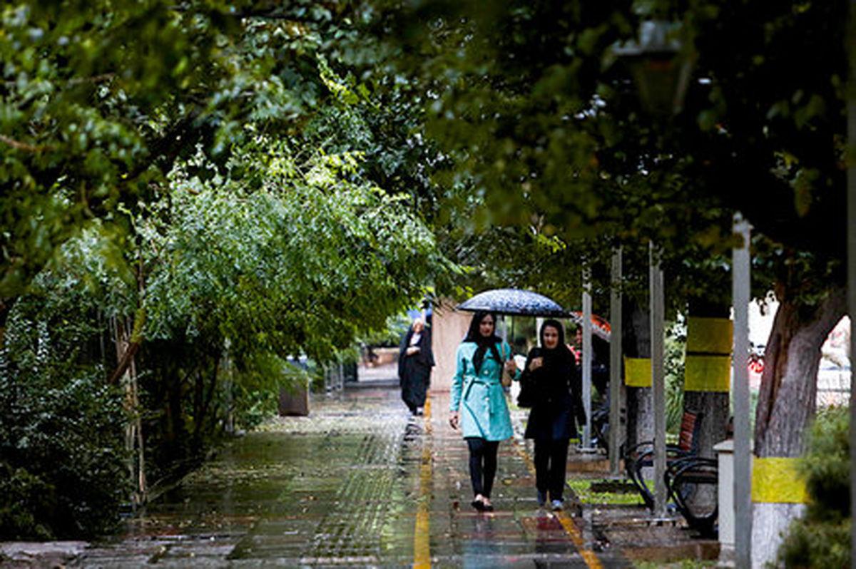 پیشبینی باران و صاعقه در ۸استان
