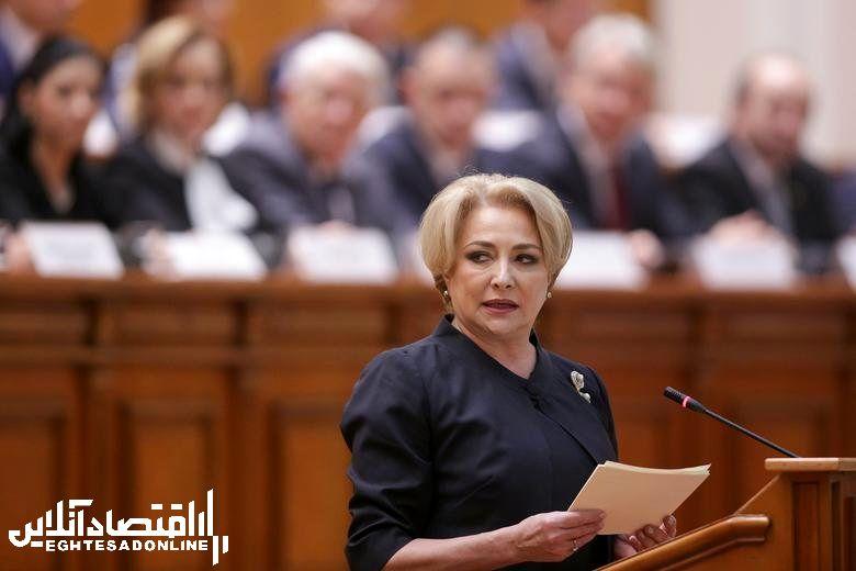 Romania's Prime Minister Viorica Dancila, in office since January 29, 2018.