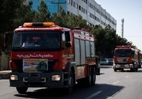 انبار ۵۰۰متری کالا در بازار تهران آتش گرفت