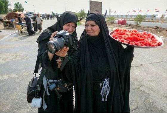 بانوی عراقی که زندگیاش را برای ایران داده است +عکس