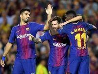 بارسلونا بالاخره در لالیگا پیروز شد