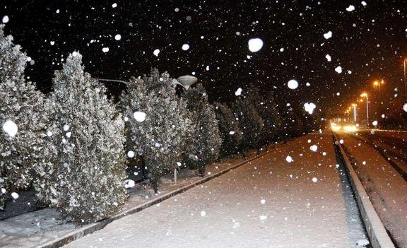 اطلاعیه هواشناسی درباره بارش برف در برخی استانها