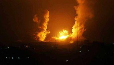 جنگنده های صهیونیستی غزه را بمباران کردند