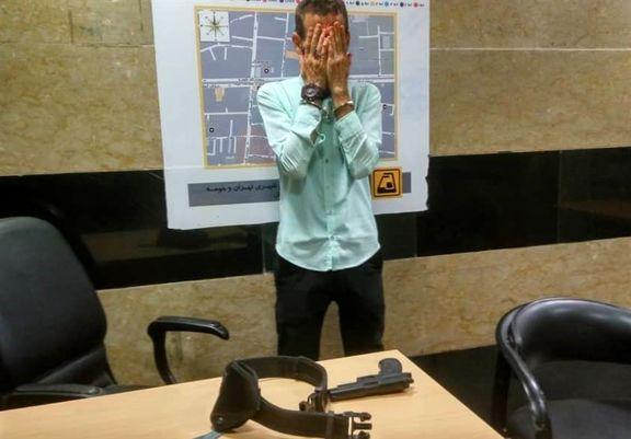 اسلحهکشی برای نشستن روی صندلی مترو!