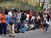 گرسنگی، تظاهرات ونزوئلاییها را نوبتی کرد