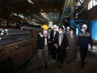 خودکفایی در تولید ریل، ثمره همت متخصصین ذوب آهن اصفهان است