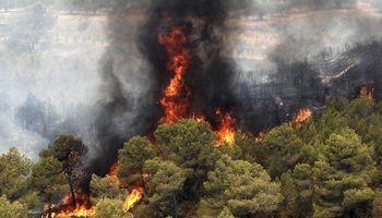 مهار آتشسوزی پارک ملی گلستان