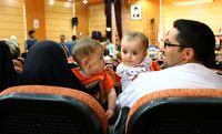 همایش دوقلوها در زنجان +تصاویر