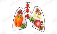 مواد غذایی خوب برای تقویت ریه ها