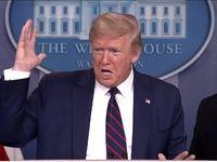 ترامپ از احتمال قرنطینه اجباری سه ایالت آمریکا گفت