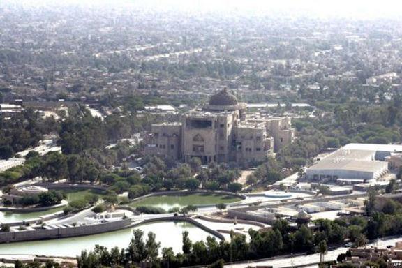 اصابت ۲راکت به منطقه سبز بغداد
