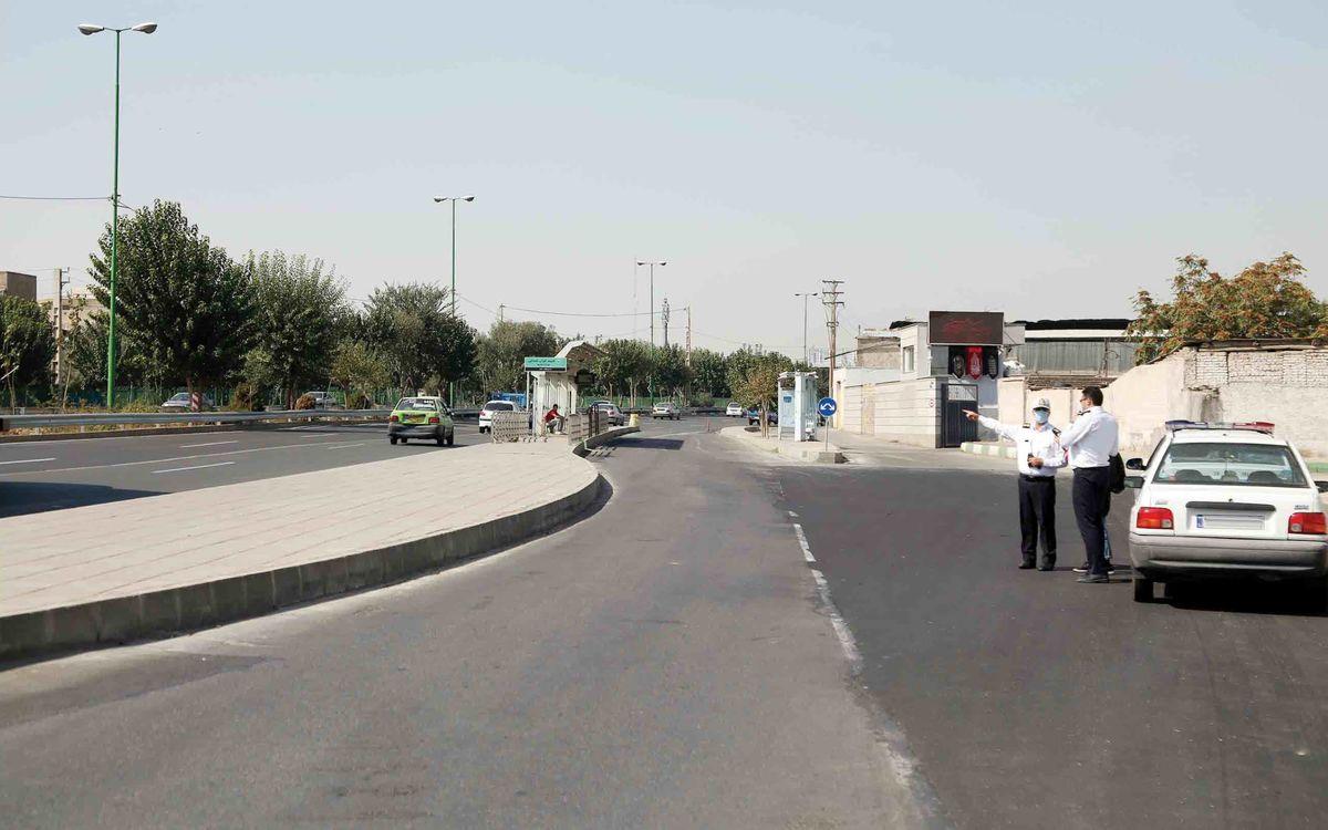 کاهش ۸درصدی ترافیک در محورهای بین شهری