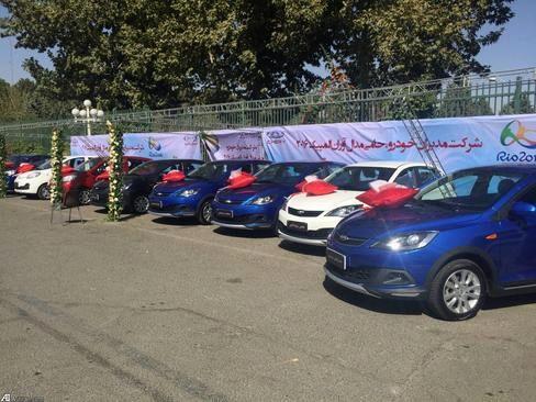 اهدای خودرو چینی به مدال آوران المپیک