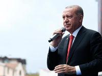 اردوغان خواستار اتحاد مردم ترکیه برای مبارزه با جنگ اقتصادی شد