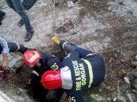 نجات جان یک کودک در پی سقوط از طبقه سوم